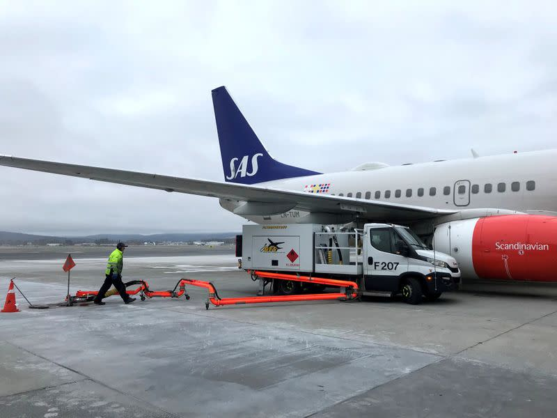 Airline SAS says Sweden and Denmark support tweaked rescue plan