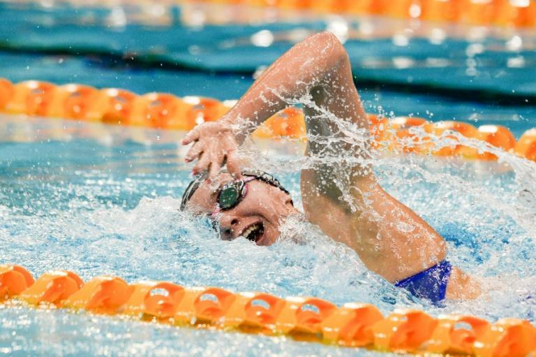 Australia's Ariarne Titmus is in sizzling form