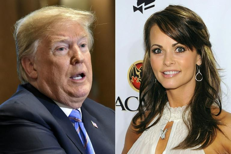 Former Playboy model Karen McDougal says she had a months-long affair with Donald Trump after they met in 2006