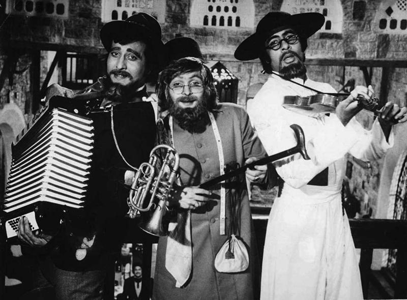 A still from Amar Akbar Anthony (1977)
