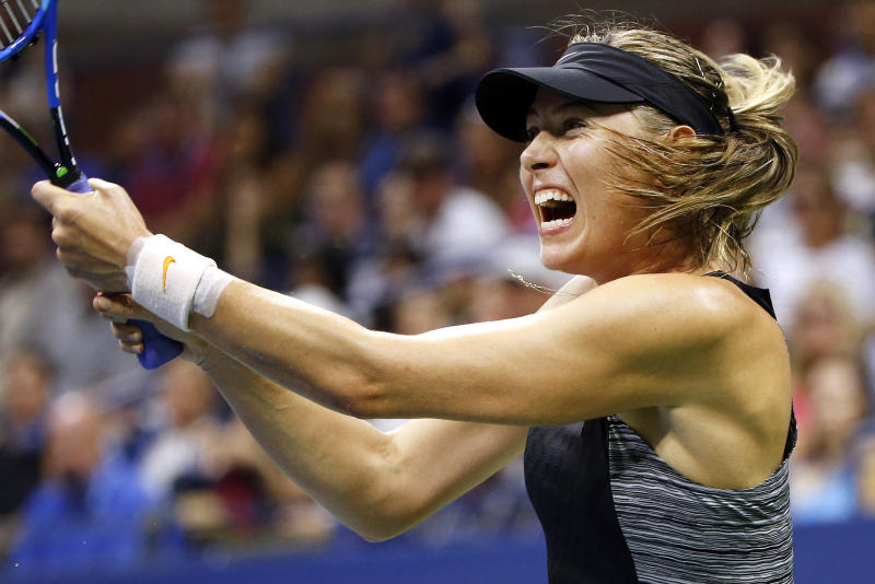 Sharapova beaten by birthday girl Suarez Navarro in New York