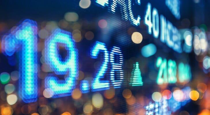 Here's how to read a stock ticker.