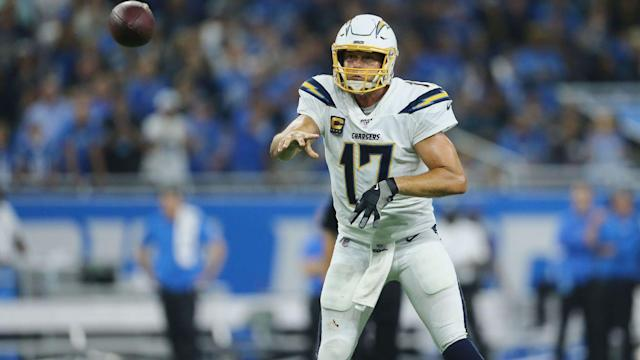 Durable Philip Rivers a constant amid Chargers' injury woes