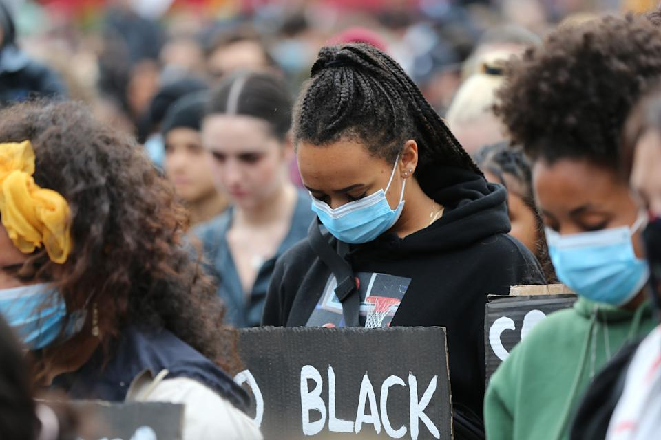 Some 4,000 New Zealand protesters demonstrate against the killing of Minneapolis man George Floyd in a Black Lives Matter protest in Auckland on June 1, 2020. (Photo by MICHAEL BRADLEY / AFP) (Photo by MICHAEL BRADLEY/AFP via Getty Images) (Photo: MICHAEL BRADLEY via Getty Images)