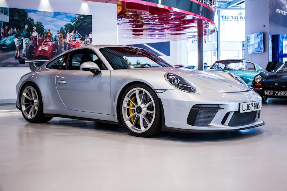 A rare example of the Porsche 911.2 GT3, as it has a full manual gearbox. Photo: Martyn Lucy/Getty Images)