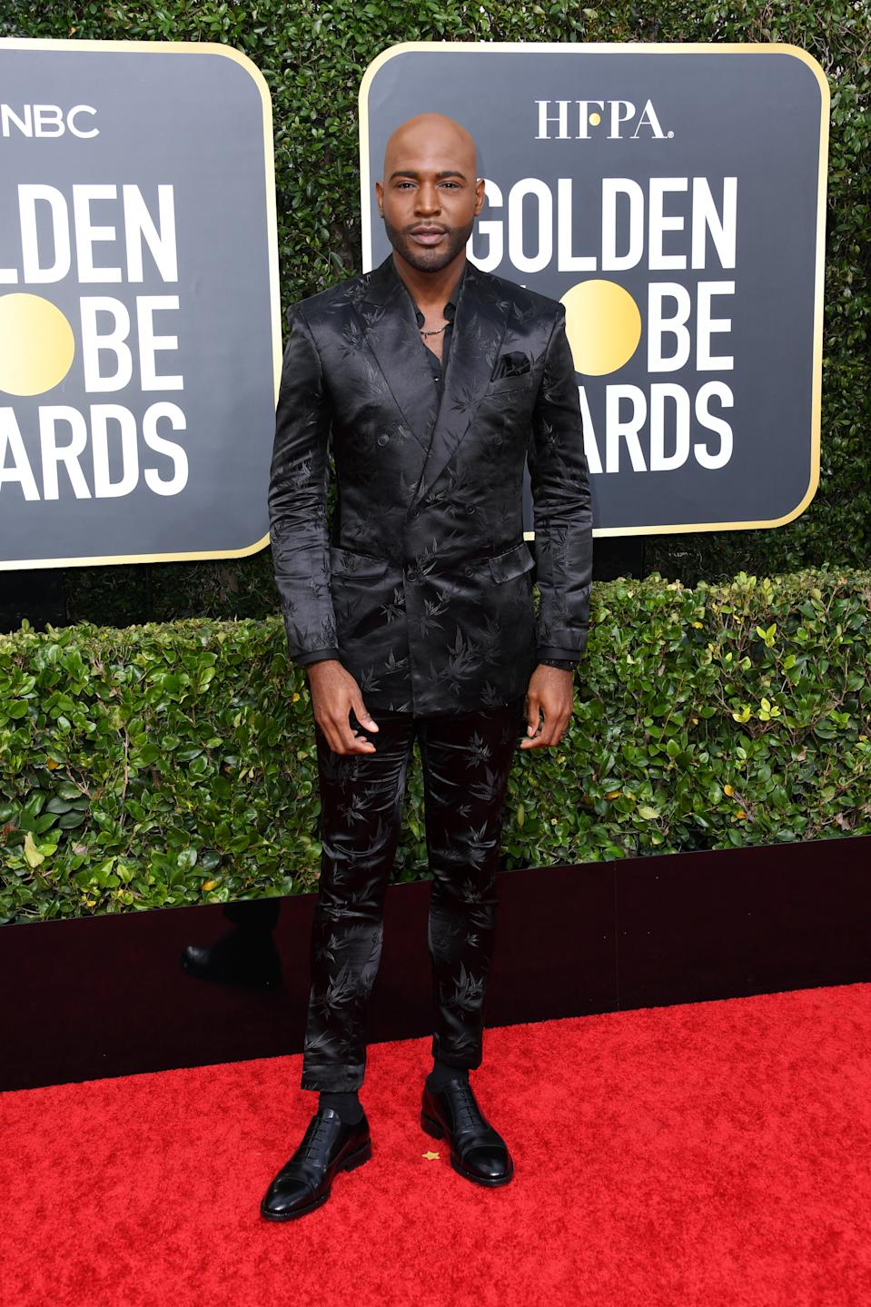 "<h1 class=""title"">Karamo Brown in Jimmy Choo shoes</h1><cite class=""credit"">Photo: Getty Images</cite>"