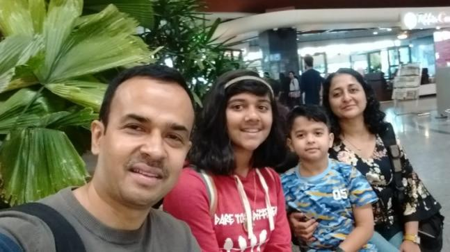 An Air Asia spokesperson refused to give India Today any statement saying the matter was a non-issue for them. The two children are seven and 12-years-old.
