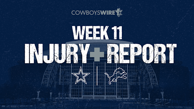 Injury Report: Cowboys entire offensive line hurting ahead of Week 11