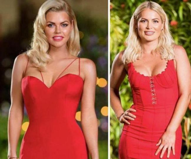 The resemblance between Sophie Monk and Keira is uncanny. Source: Ten