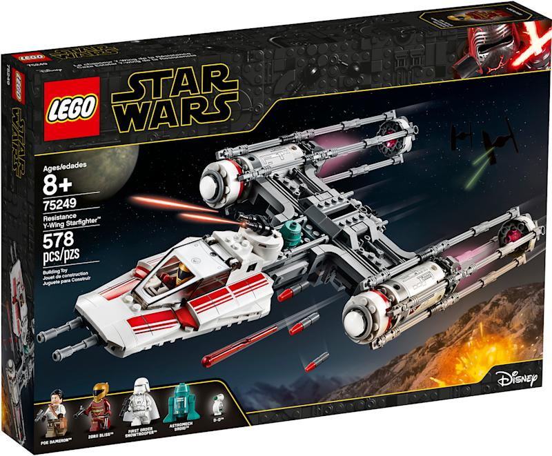 Resistance Y-Wing Starfighter (Photo: Lego)