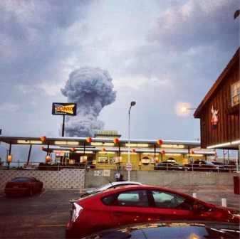 What Mushroom Clouds Can Reveal About The Waco Explosion