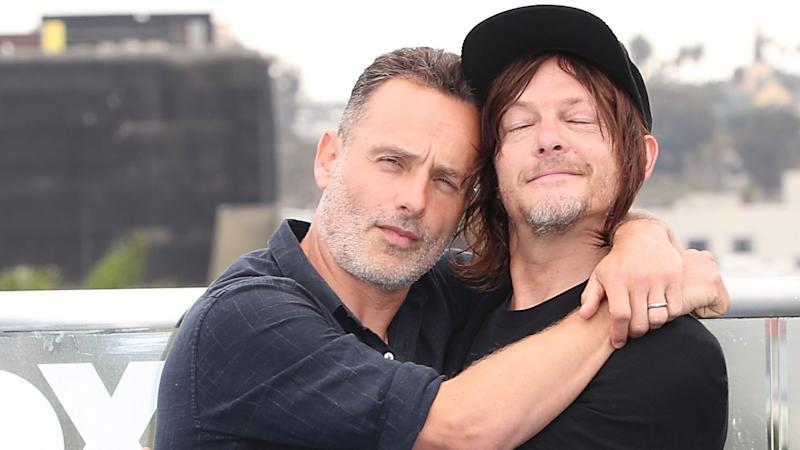 'The Walking Dead' Star Norman Reedus Says He's 'Bummed' About 'BFF' Andrew Lincoln's Exit (Exclusive)
