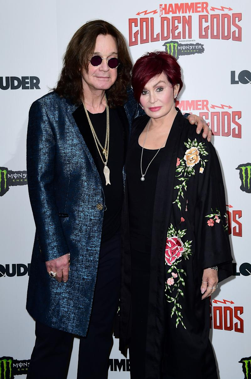 Ozzy and Sharin in 2018 (Photo: Ian West - PA Images via Getty Images)