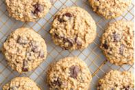 """<p>Sometimes, plain and simple wins.</p><p>Get the recipe from <a href=""""https://www.delish.com/cooking/recipe-ideas/a19885291/best-oatmeal-chocolate-chip-cookies-recipe/"""" rel=""""nofollow noopener"""" target=""""_blank"""" data-ylk=""""slk:Delish"""" class=""""link rapid-noclick-resp"""">Delish</a>.</p>"""