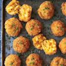 """<p>The only thing better than mac and cheese? Fried mac and cheese. </p> <p><strong>Get the recipe:</strong> <a href=""""http://damndelicious.net/2016/11/27/fried-mac-cheese-balls/"""" class=""""link rapid-noclick-resp"""" rel=""""nofollow noopener"""" target=""""_blank"""" data-ylk=""""slk:fried mac and cheese balls"""">fried mac and cheese balls</a></p>"""