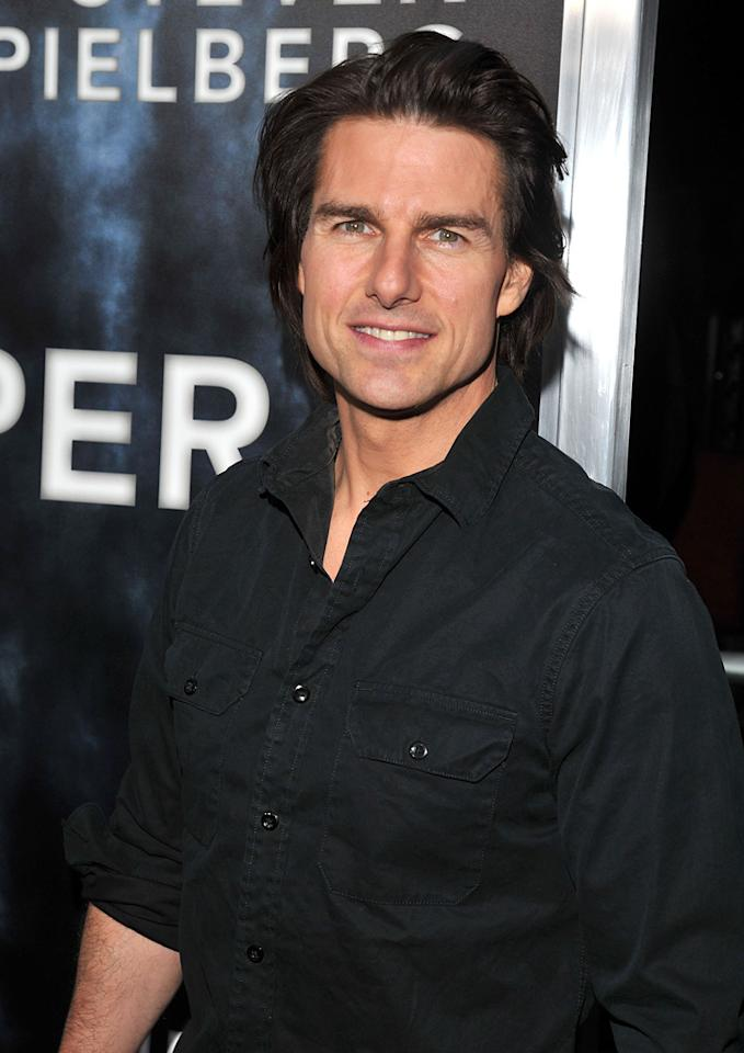 "<a href=""http://movies.yahoo.com/movie/contributor/1800015725"">Tom Cruise</a> at the Los Angeles premiere of <a href=""http://movies.yahoo.com/movie/1800063512/info"">Super 8</a> on June 8, 2011."
