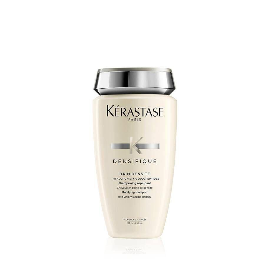 """<p><strong>Kerastase</strong></p><p>kerastase-usa.com</p><p><strong>$35.00</strong></p><p><a href=""""https://go.redirectingat.com?id=74968X1596630&url=https%3A%2F%2Fwww.kerastase-usa.com%2Fcollections%2Fdensifique%2Fbain-densite-shampoo.html&sref=https%3A%2F%2Fwww.thepioneerwoman.com%2Fbeauty%2Fhair%2Fg32690409%2Fbest-shampoo-for-thinning-hair%2F"""" rel=""""nofollow noopener"""" target=""""_blank"""" data-ylk=""""slk:Shop Now"""" class=""""link rapid-noclick-resp"""">Shop Now</a></p><p>Hyaluronic acid is the secret ingredient in this thickening shampoo, a moisturizing agent that can help plump up both hair and skin. </p>"""