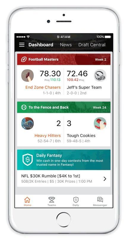 With football season on the horizon, the new app will help you from start to finish.