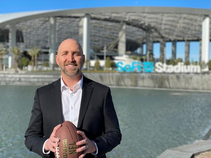 Jesse Baker, Secret Service agent in charge of the agency's Los Angeles field office, will be in charge of security for the 56th Super Bowl in Los Angeles.