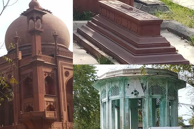 Roman Catholic Cemetery- Built in red stone in 1853, it is commonly referred to as the Red Taj Mahal. It is the oldest Christian burial ground in North India.
