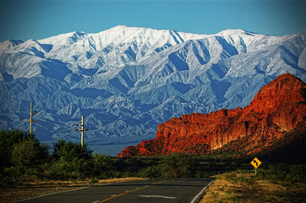 <strong>National Route 40</strong> is a spectacular route in western Argentina, running almost entirely parallel with the Andes mountains.