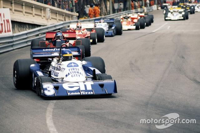 "Ronnie Peterson, Tyrrell P34, in the Monaco GP <span class=""copyright"">David Phipps</span>"