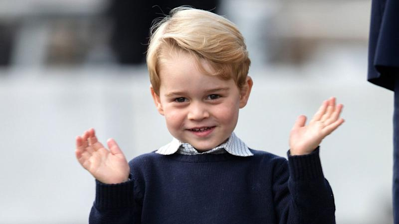 Prince George Joins Queen Elizabeth, Dad Prince William and Prince Charles in New Photo