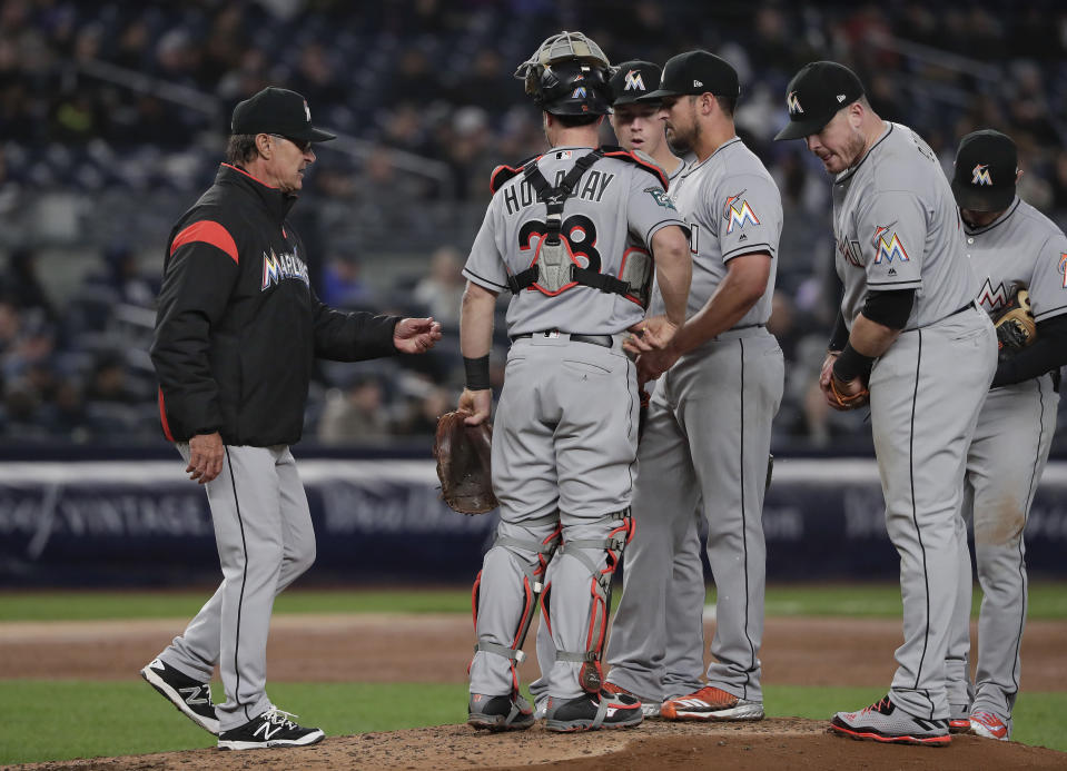 """Before the season, one scout said in reference to the Miami Marlins: """"This might be the worst team I've ever seen."""" (AP)"""