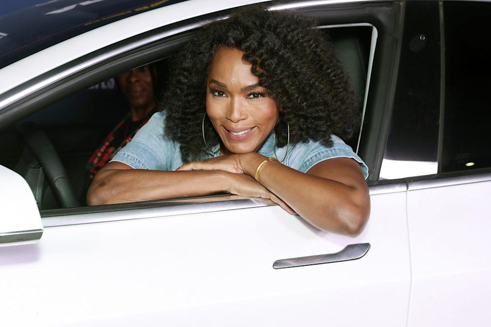 <p>Angela Bassett attends Amazon Studios <em>One Night In Miami </em>AFI Fest Drive-In screening in L.A. on Monday. </p>