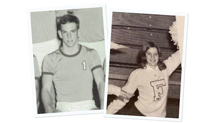 Joe and Donna Cougill were high school sweethearts in the late 1960s.