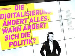 FDP-Wahlplakate: Christian Lindners One-Man-Show