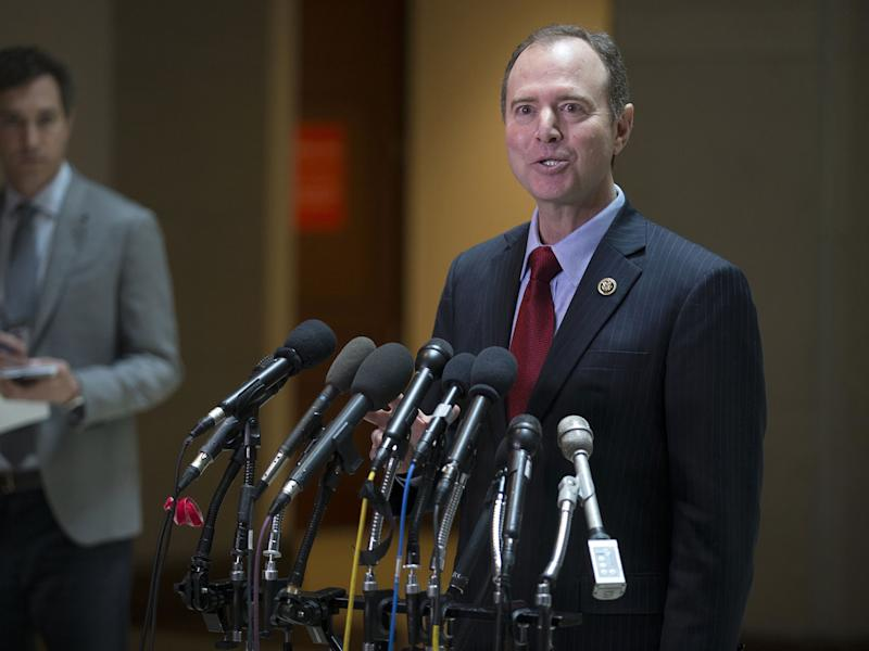 Adam Schiff has accepted an invitation to visit the White House: EPA