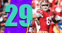 <p>Could San Francisco steal the first pick of the draft? The Raiders' recent win helps. (George Kittle) </p>