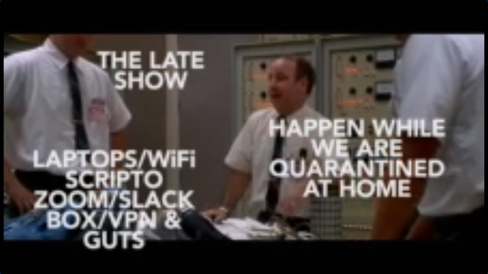 """""""The Late Show"""" spoofed """"Apollo 13"""""""