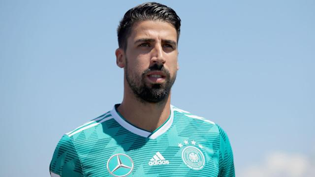 Sami Khedira is delighted with Juventus' capture of Emre Can and confirmed he will play with his compatriot next season.