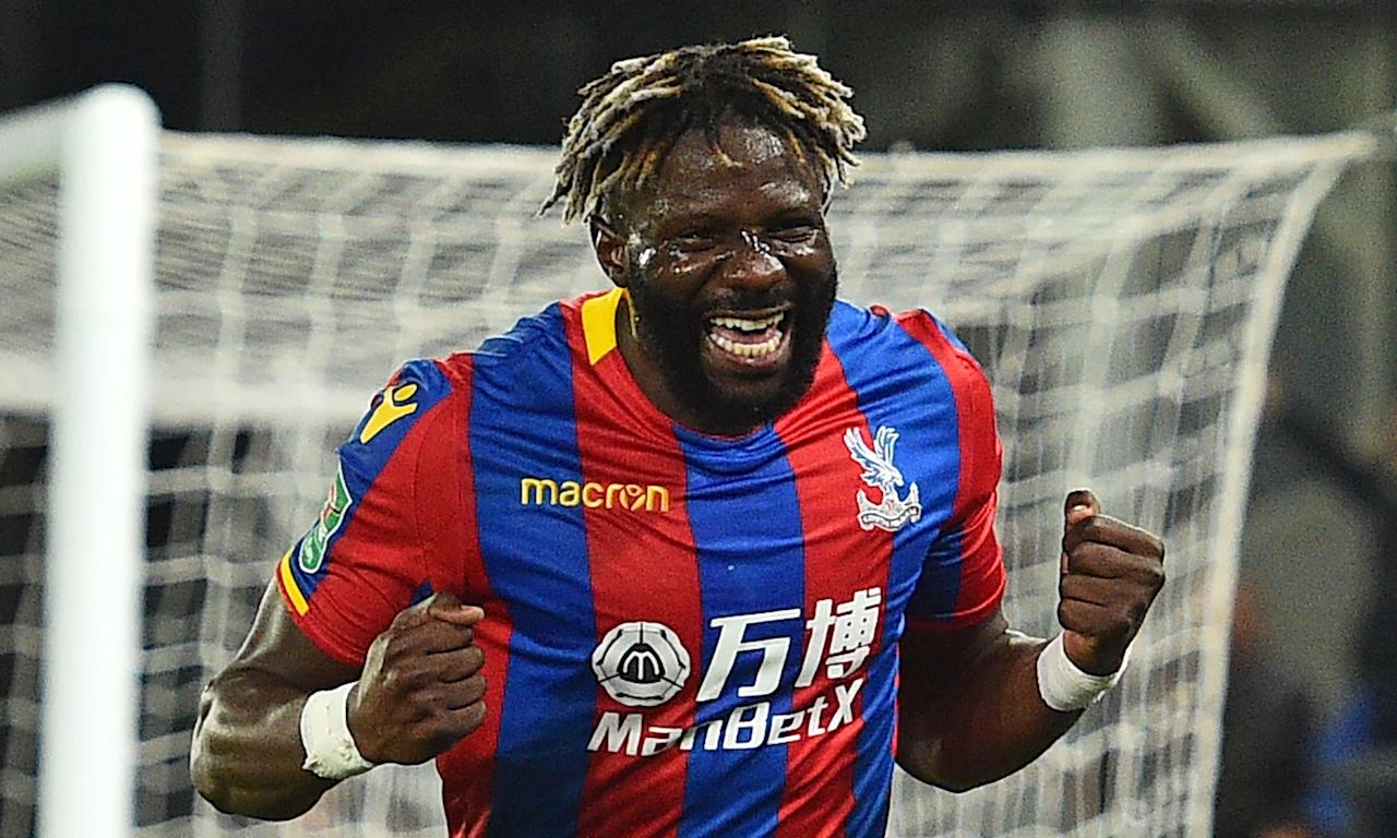 Bakary Sako's winner against Huddersfield in the Carabao Cup third round was his first Crystal Palace goal since the summer of 2015.