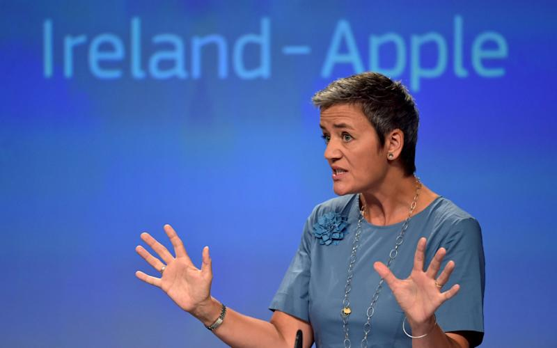 The Commission's case against Apple was quashed over the summer - Eric Vidal/Reuters