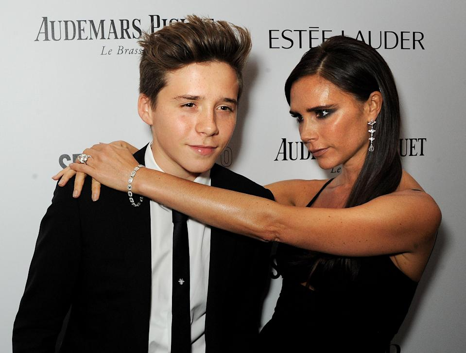 Victoria Beckham and Michelle Obama also made the top ten in the poll about ideal mothers [Photos: Getty]