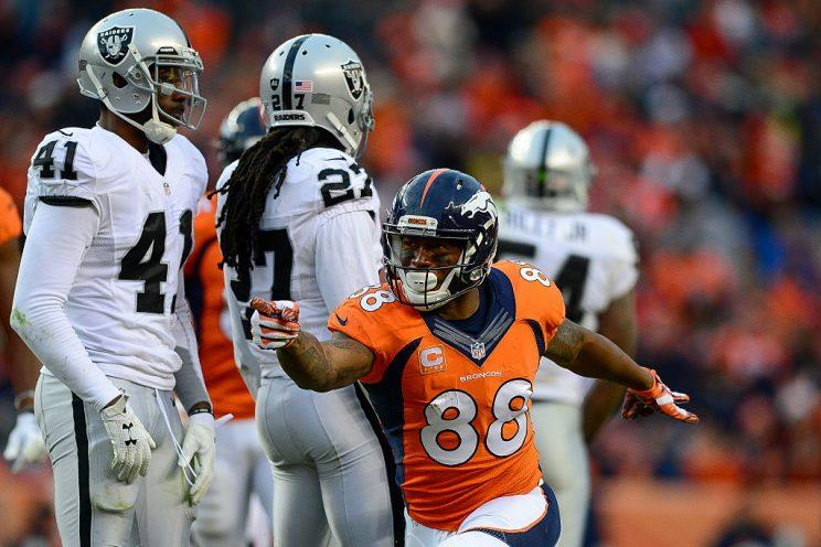 Demaryius Thomas still leads this team's receiving corps, coming off his fifth straight 1000-yard campaign.
