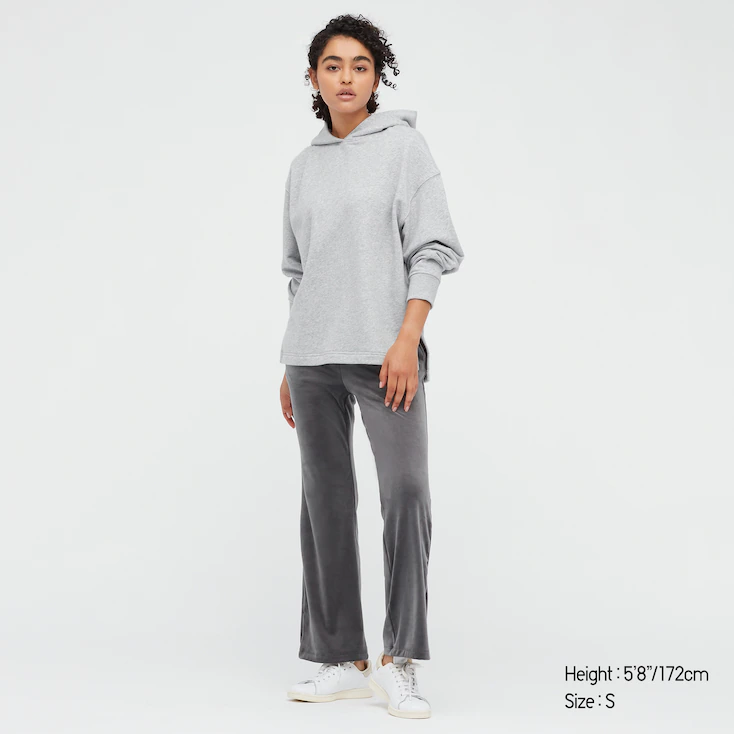 """<h2>Uniqlo Ultra Stretch</h2><br>If it's not apparent to you by this point, Uniqlo clothes are wildly comfortable. Case in point: these velvet-like loungewear pants are swingy, fuzzy-soft, and can stretch like woah.<br><br><em>Shop </em><a href=""""https://www.uniqlo.com/us/en/search?q=ultra+stretch&search-button=&lang=default"""" rel=""""nofollow noopener"""" target=""""_blank"""" data-ylk=""""slk:Uniqlo Ultra Stretch"""" class=""""link rapid-noclick-resp""""><em>Uniqlo Ultra Stretch</em></a><br><br><strong>Uniqlo</strong> WOMEN ULTRA STRETCH SMOOTH PANTS, $, available at <a href=""""https://go.skimresources.com/?id=30283X879131&url=https%3A%2F%2Fwww.uniqlo.com%2Fus%2Fen%2Fwomen-ultra-stretch-smooth-pants-439108.html"""" rel=""""nofollow noopener"""" target=""""_blank"""" data-ylk=""""slk:Uniqlo"""" class=""""link rapid-noclick-resp"""">Uniqlo</a>"""