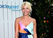 """<p>Holly Willoughby has some opinions on women discussing their post-baby body fitness regimens. """"A lot of women, and particularly celebrities, talk about this, and I think it is very unhelpful,"""" she told the <a href=""""http://www.dailymail.co.uk/home/you/article-3627668/No-two-births-no-two-babies-Holly-Willoughby-reveals-decided-write-guide-book-mothers.html"""" rel=""""nofollow noopener"""" target=""""_blank"""" data-ylk=""""slk:Daily Mail"""" class=""""link rapid-noclick-resp"""">Daily Mail</a>. </p><p>'Everyone's journey is individual. I don't want to go on the record saying I did this or that, and then have other women read it and think they have to go and do the same,' she explained.</p><p>'I'm sorry, I just don't want to be a part of this conspiracy to make women feel pressured about their bodies. Every woman needs to look in the mirror and instinctively decide what will make her feel happy and good about herself and her body; that's all I did.' You do you, Holly.</p>"""