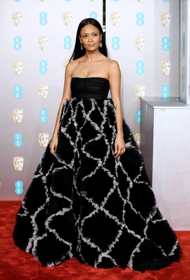 Thandie Newton at 2019 baftas