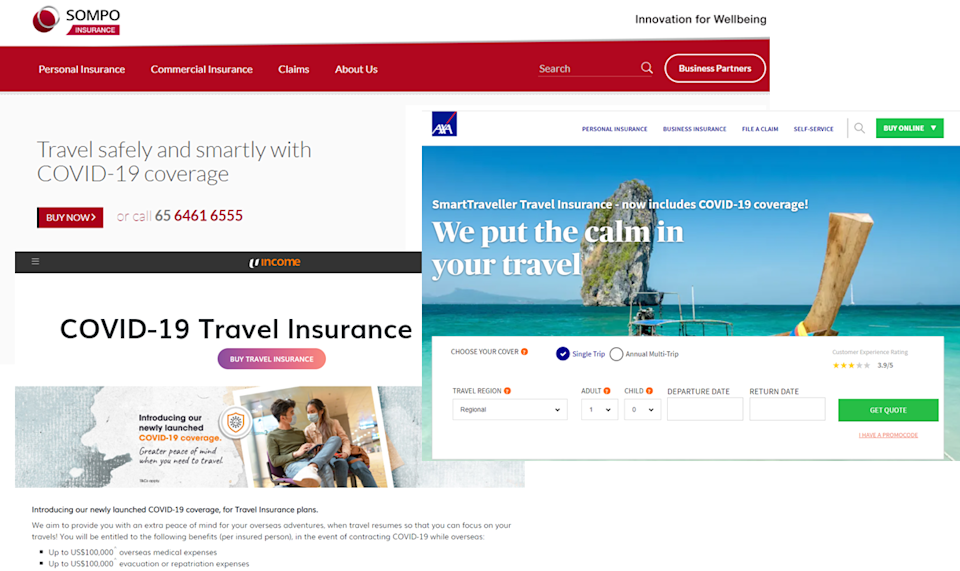 Travel insurance underwriters increasingly provide COVID-19 coverage