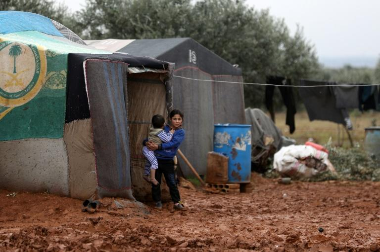 Millions of Syrians depend on cross-border aid for their survival in the war-hit country (AFP Photo/Omar HAJ KADOUR)