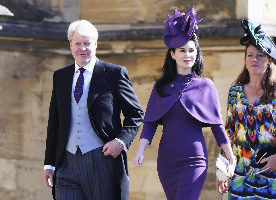 Charles Spencer, Earl Spencer and his wife, Countess Spencer.