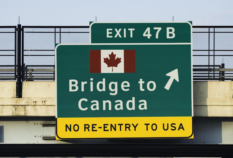The US-Canada border will remain closed to all but essential travel: iStock / RiverNorthPhotography