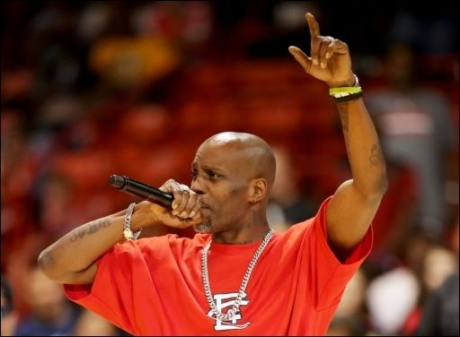 Rapper Earl Simmons alias DMX