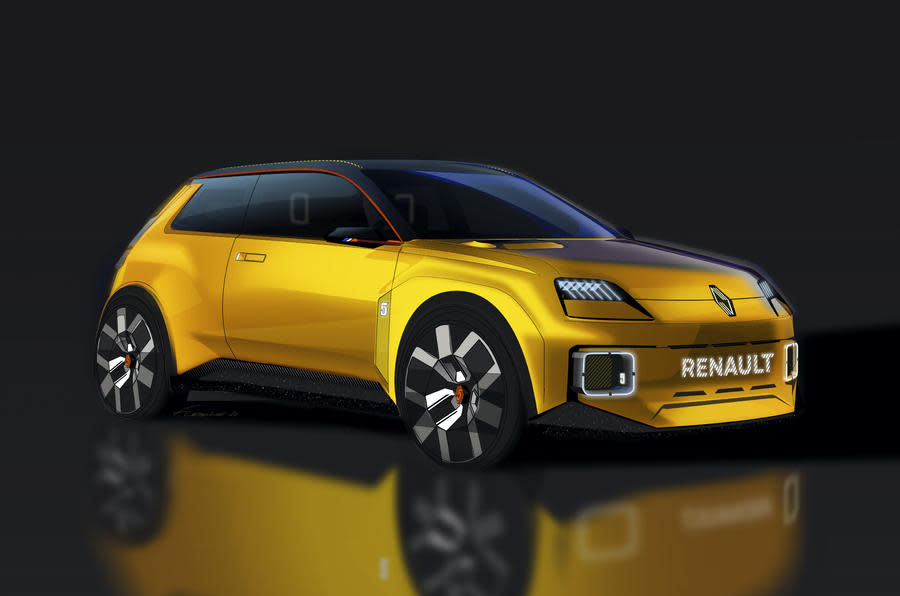 Renault's classic 5 reborn as an EV as part of a sweeping new strategy
