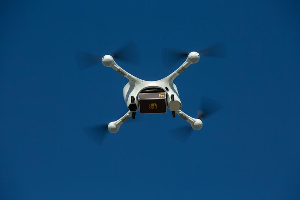 UPS is using Matternet's M2 drone system to deliver orders from CVS Pharmacies.