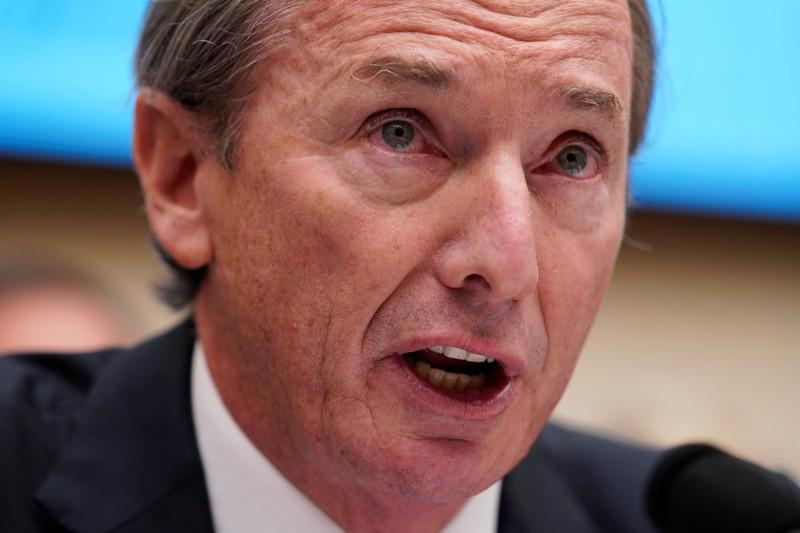 James P. Gorman, chairman & CEO of Morgan Stanley, testifies before a House Financial Services Committee hearing on Capitol Hill in Washington